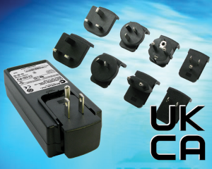 UKCA mark for power supplies, ac adapters, now available for IEC/BS62368 (Information communication equipment and power supplies), IEC/BS60601 (Medical power supplies), IEC/BS61558 and IEC/BS60335 (Household use power supplies)