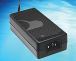 180W Cardiac Floating (CF Category) Desktop adapters available in 5-54VDC outputs, Model GTM961800PWWWVV.V-T3